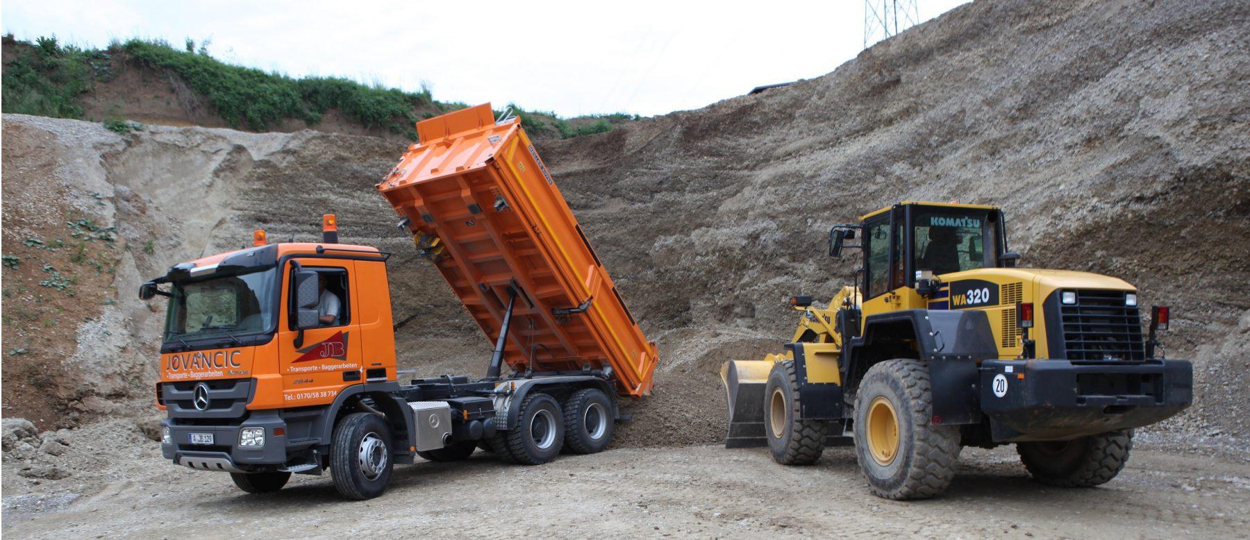 JOVANCIC Transporte & Baggerarbeiten